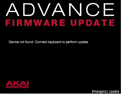 Akai Pro Advance Series - Firmware Update Guide | Akai