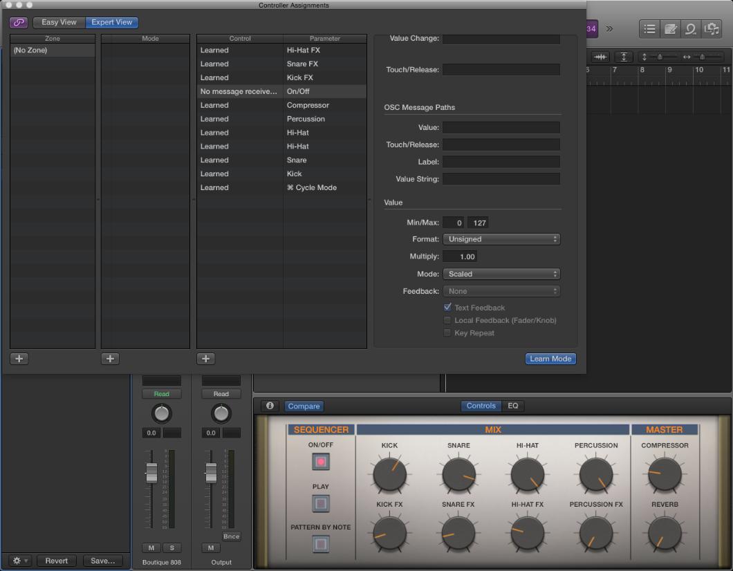 Akai Pro Advance Series and VIP - Setup with Logic Pro X