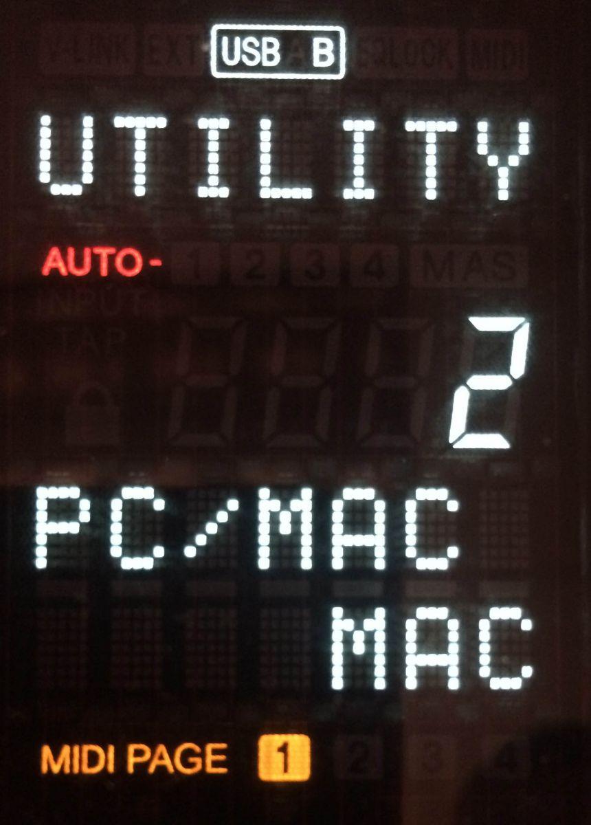 DNX1600 Mac Mode