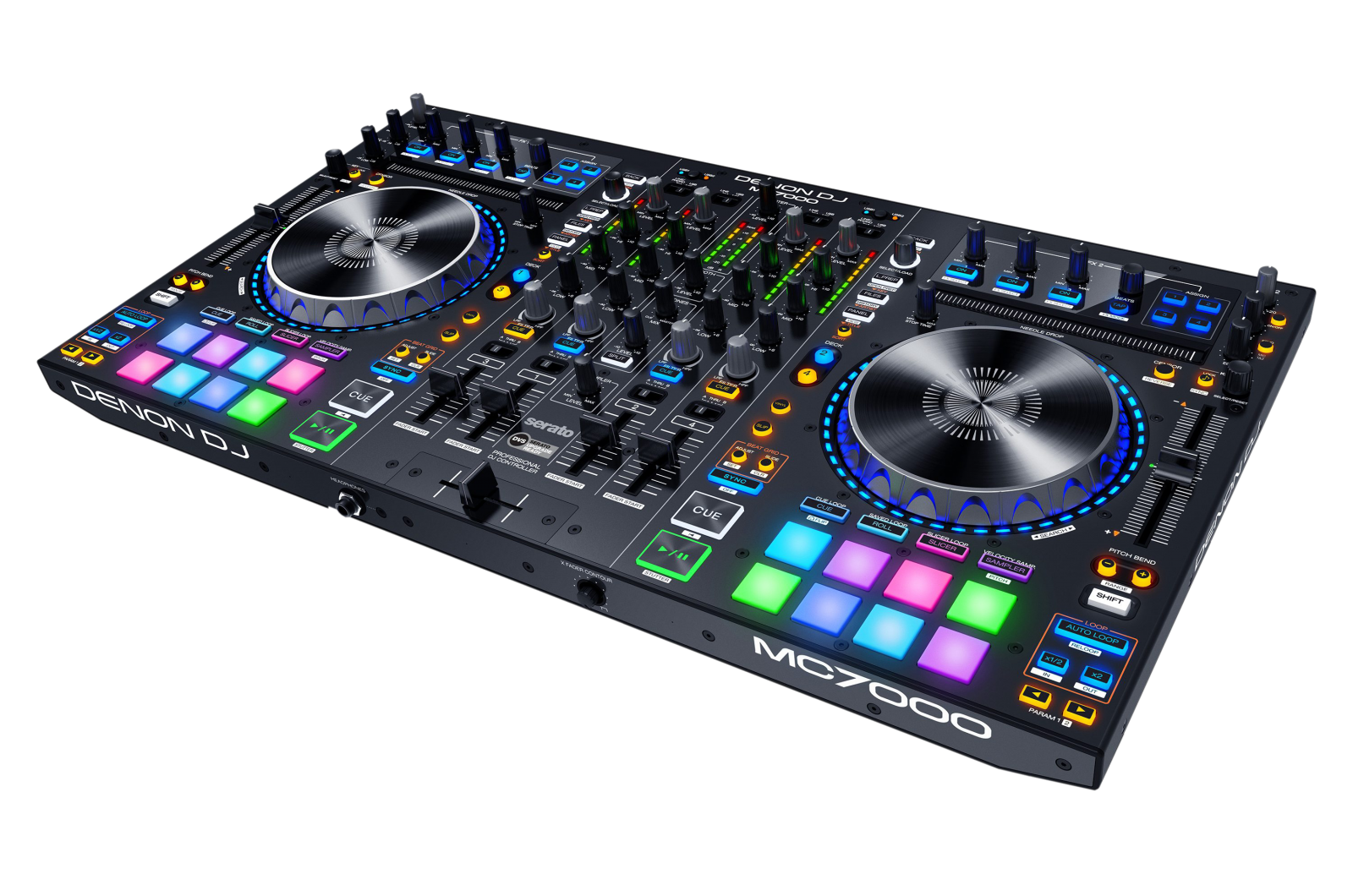 Denon DJ MC7000 - Complete Setup and Routing in Virtual DJ