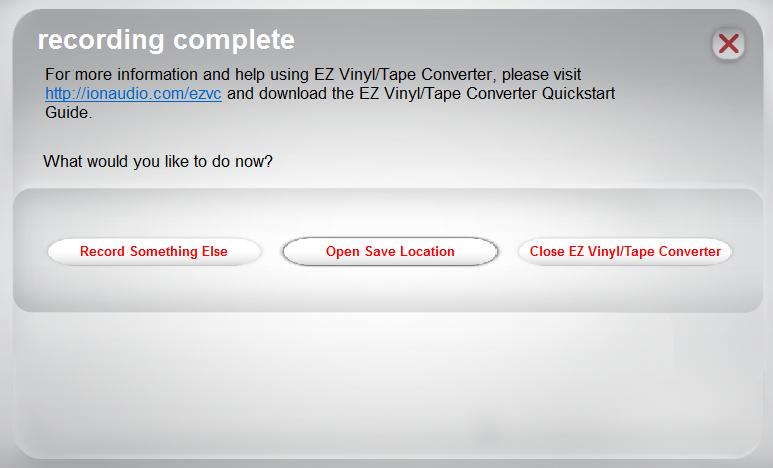 ION EZ Vinyl/Tape Converter - Windows Walkthrough and