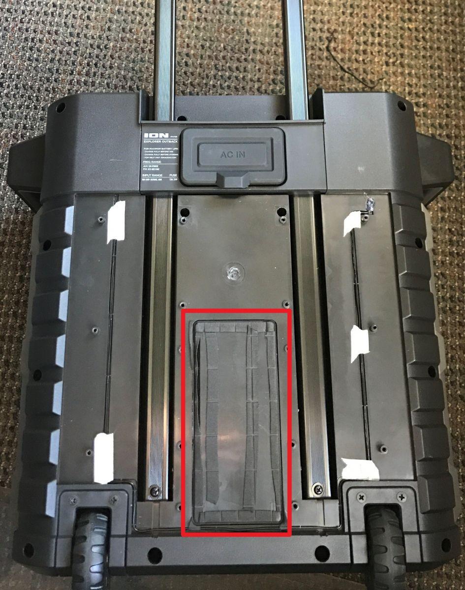 Ion ExploerOutback backextendeduncoveredbattery