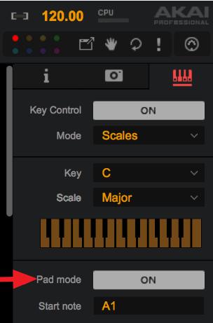 Key Contorl Pad