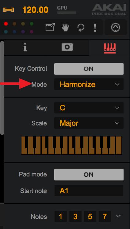 Key Controle Harmonize