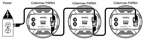 MARQLighting ColormaxSeries PWR3.dmg