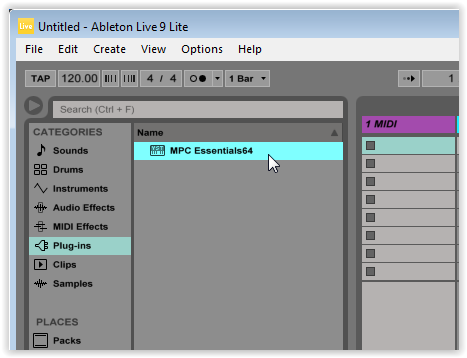 Akai Pro MPC Essentials - Using Multiple Instances Of The Plugin
