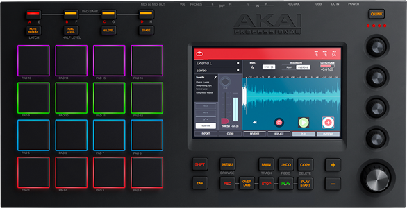 Akai Pro MPC Touch - Sequencing and Sampling with a