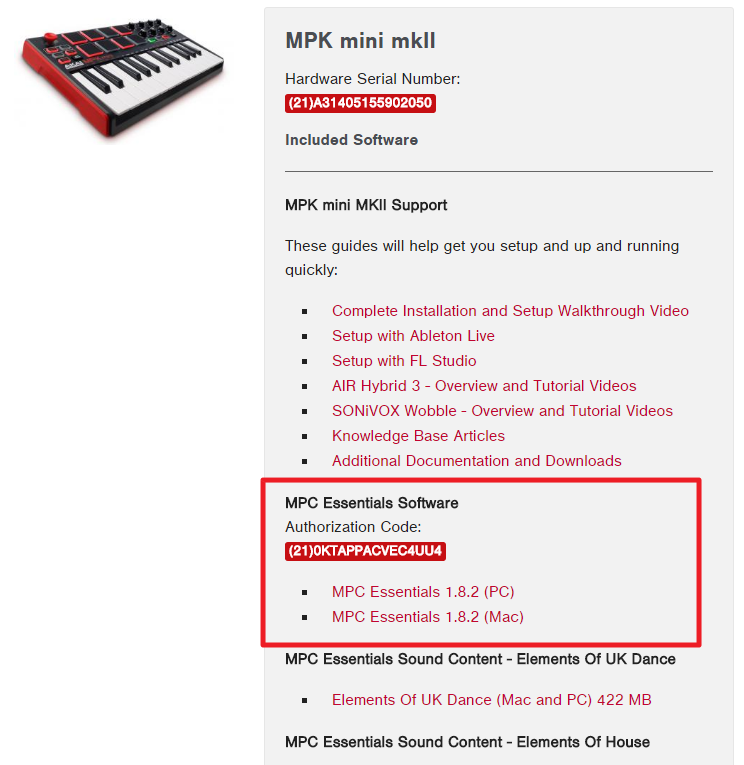 Akai MPK2 Series - Complete Download, Unlock and Setup in