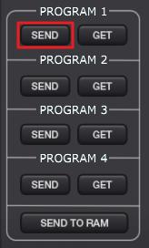 MPKMini edit send
