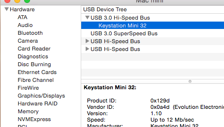 USB hardware