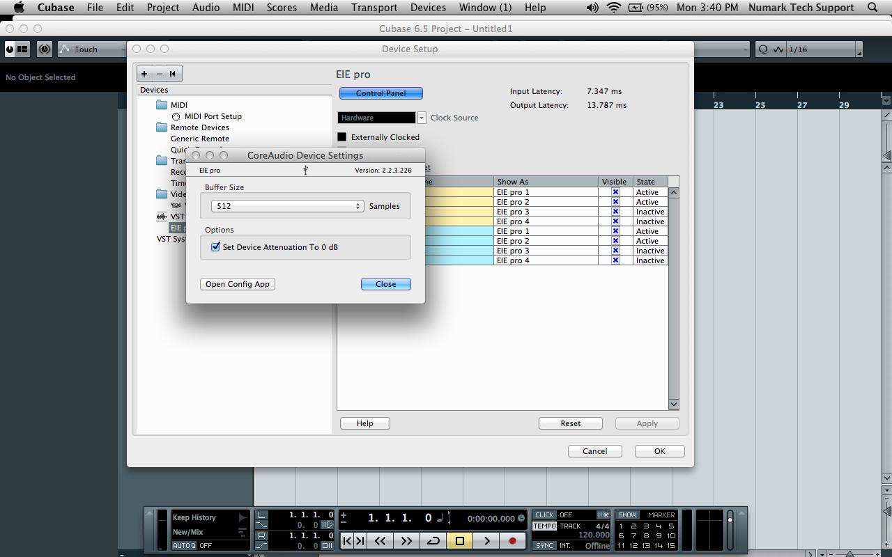 Setup 5 Mac EIE Pro CP