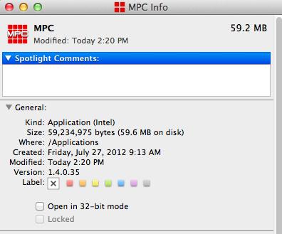 akai mpc 1.4 64 bit mac 13