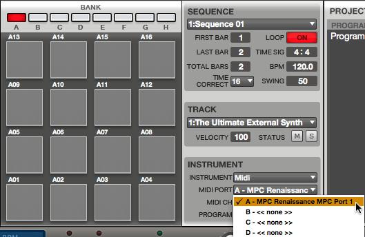 akai mpc ren sound module 51
