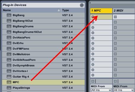 7b Insert MPC Plugin