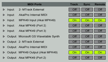akai mpd mpk ableton software 3