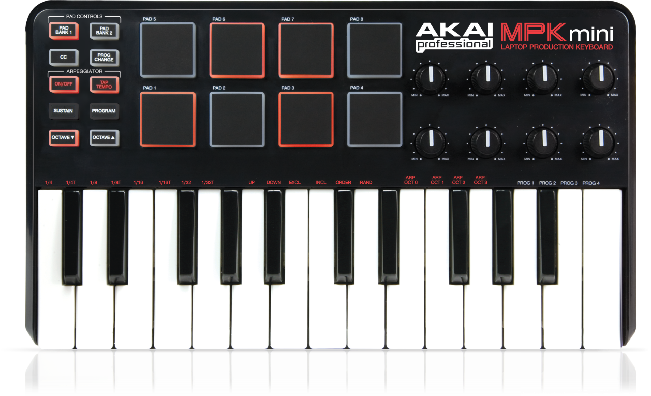 Akai MPK Mini - Using the Preset Editor | Akai Professional
