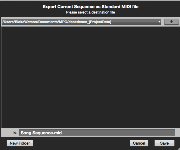mpc software exportingaudio15