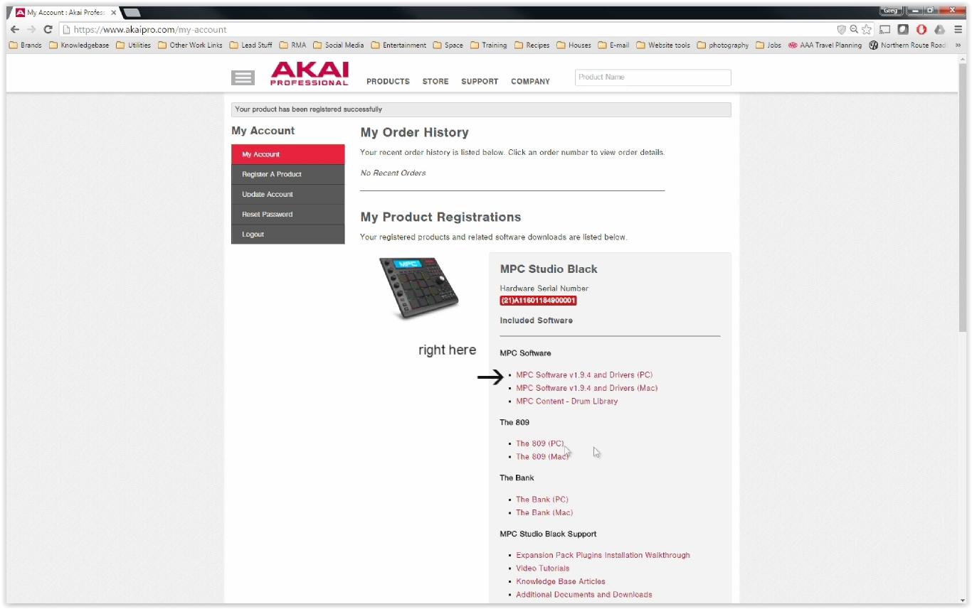 Akai Pro MPC Renaissance & Studio Black - Complete Download