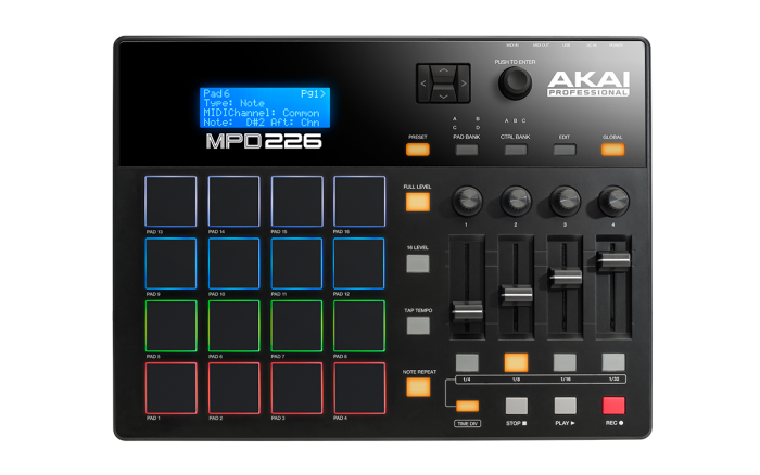 akai MPD226 main