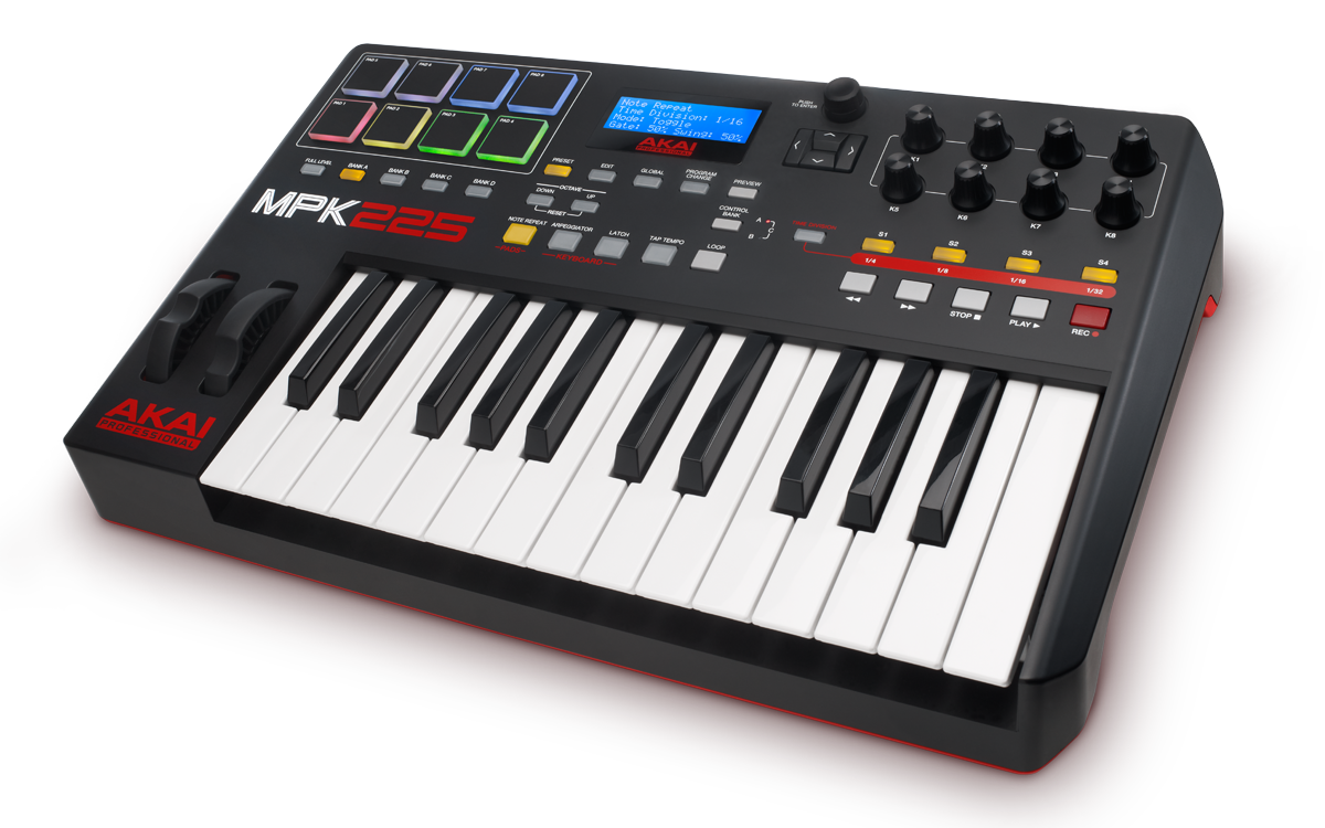 Akai MPK2 Series - Syncing to External MIDI Devices | Akai