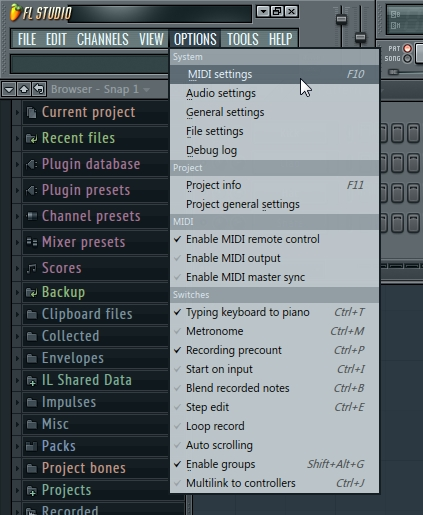 akai mpk2 flstudio software 2
