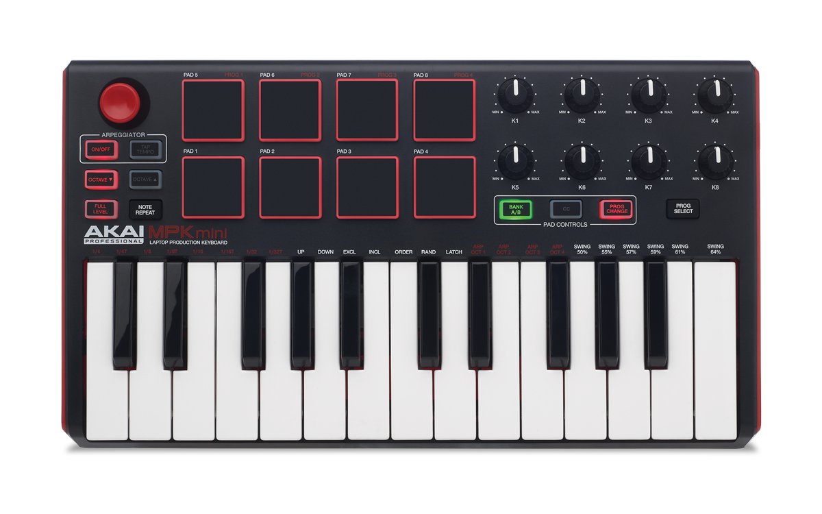 akai mpk mini mkii main