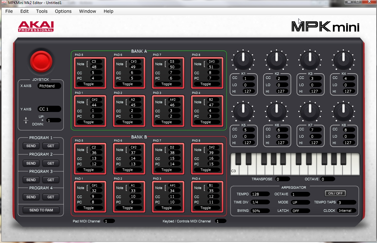 Akai Pro MPK mini mkII - Downloading, Installing and Using