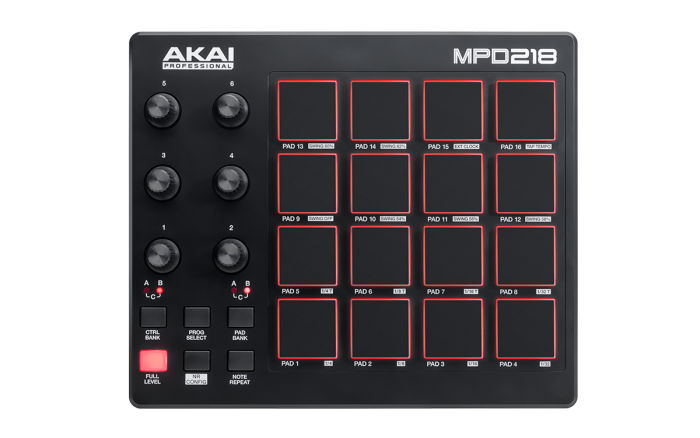 Akai Pro MPD218 - How to Download and Use the Included