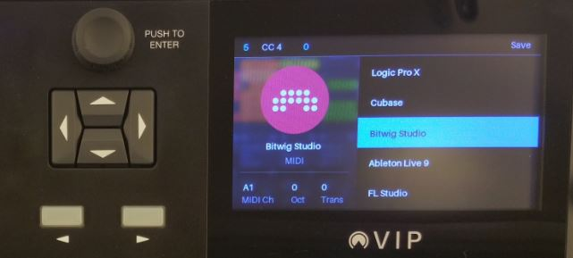 VX49 bitwig studio presets
