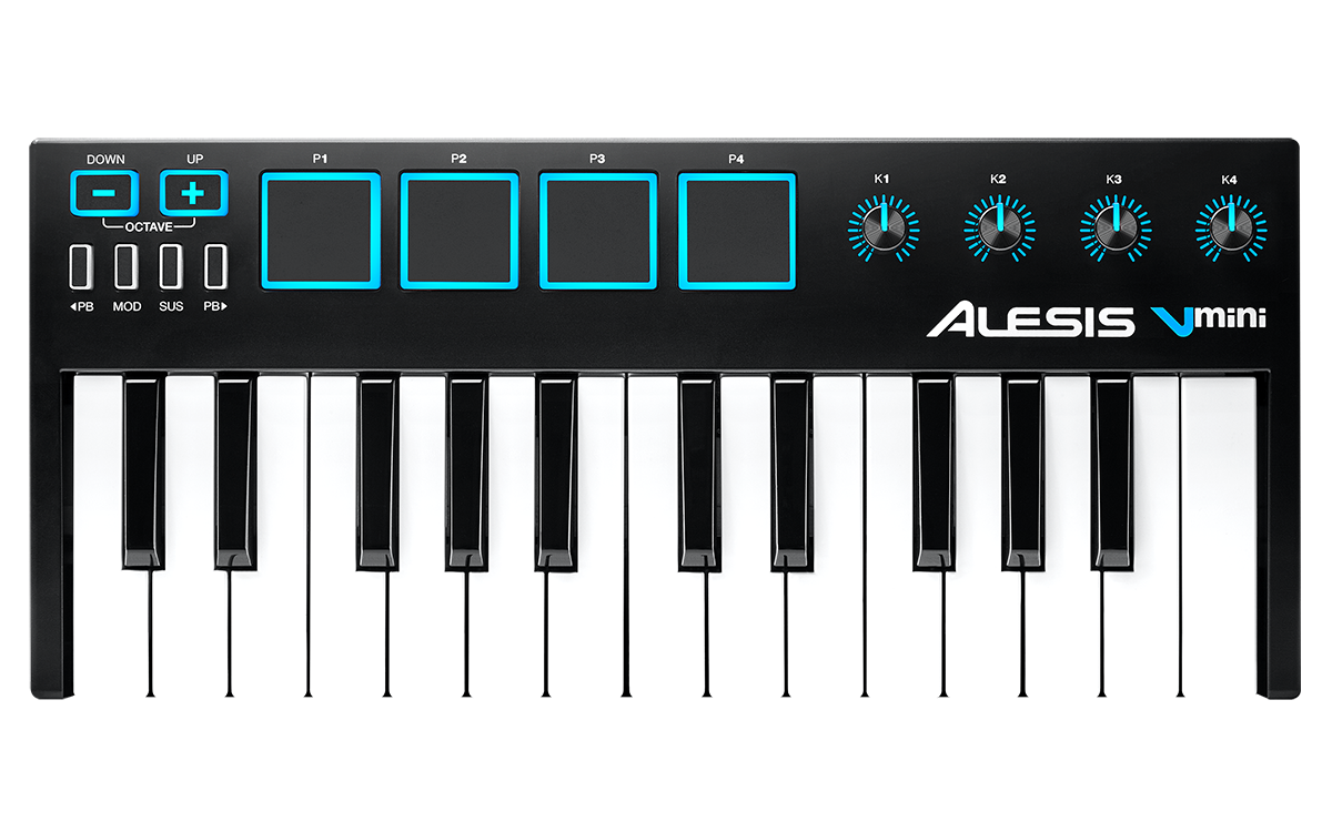 Alesis V Mini - Setup with FL Studio