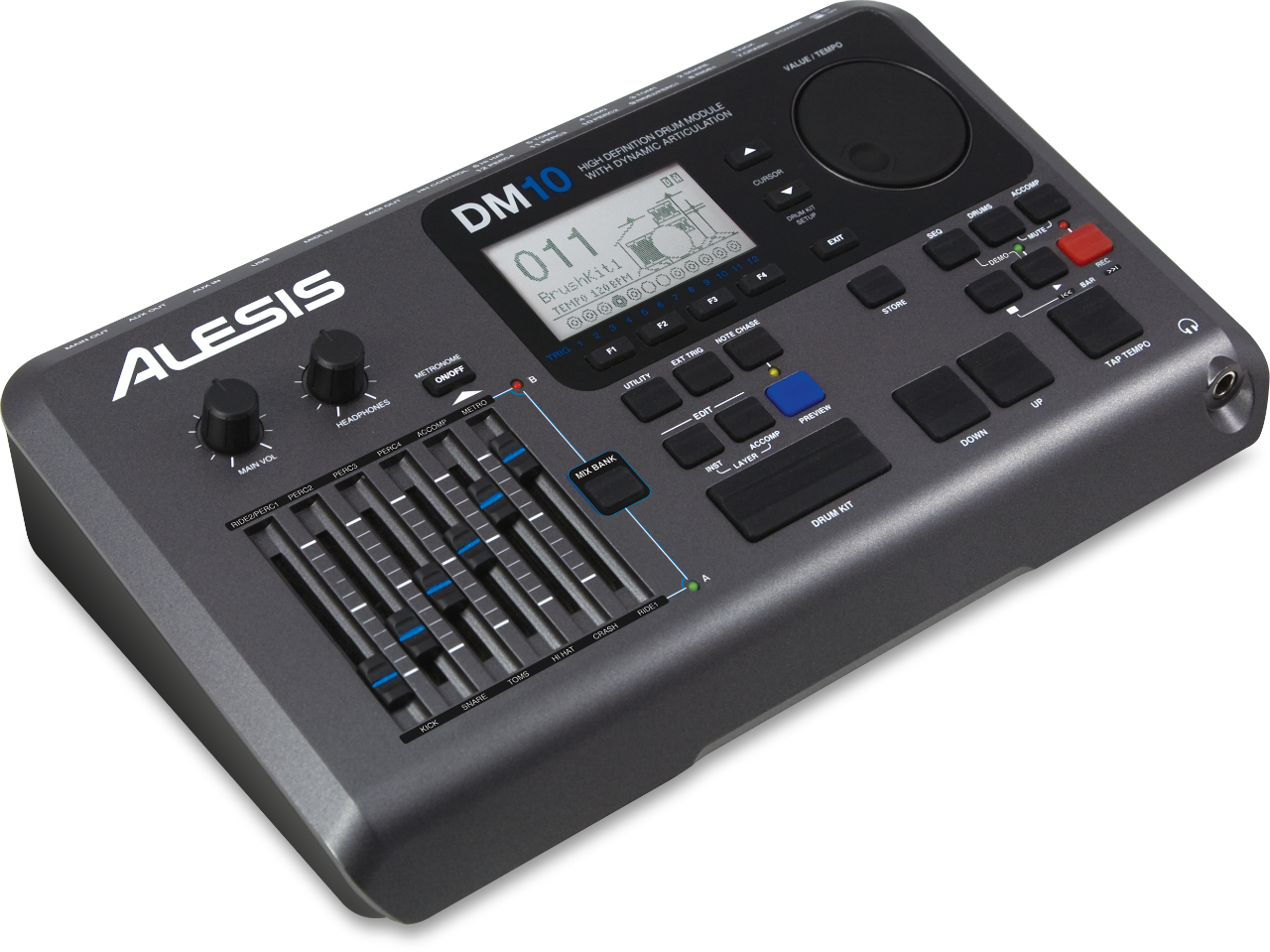 Alesis DM10 - Setup With Addictive Drums