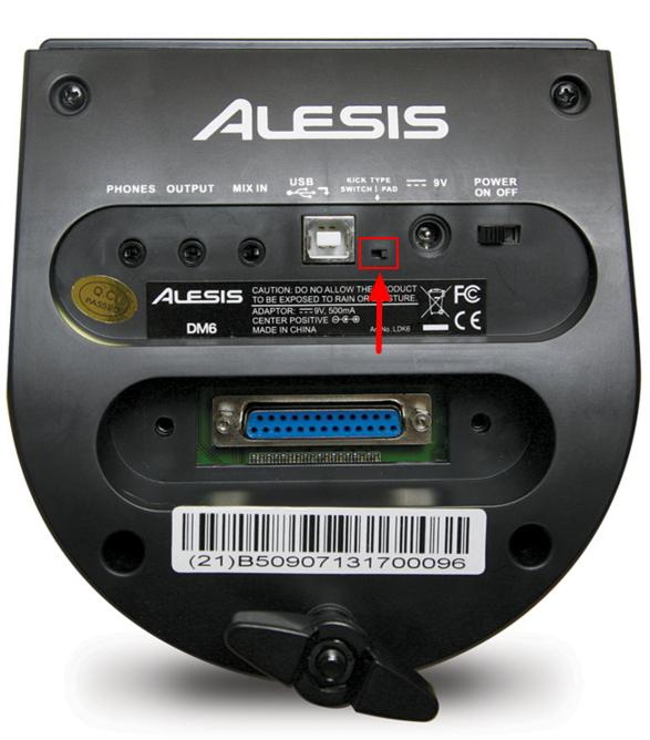 Alesis DM6, Burst and Nitro Kits - No sound from kick or