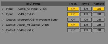vi ableton setup1