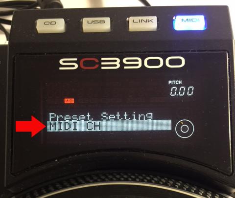 SC3900 hybridDVS selectMIDI CH