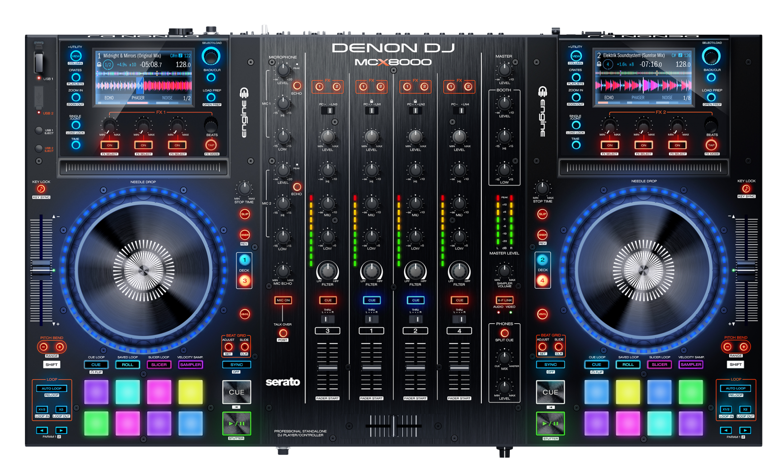 Denon Dj Mcx8000 Frequently Asked Questions Pro Comp Pc 8000 Wiring Diagram Denondj Main