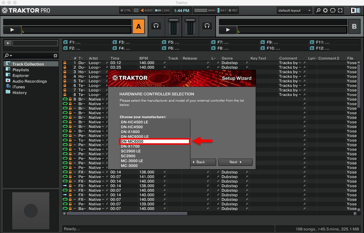 Denon DJ MC6000MK2 - Setup in Traktor Pro | Denon DJ