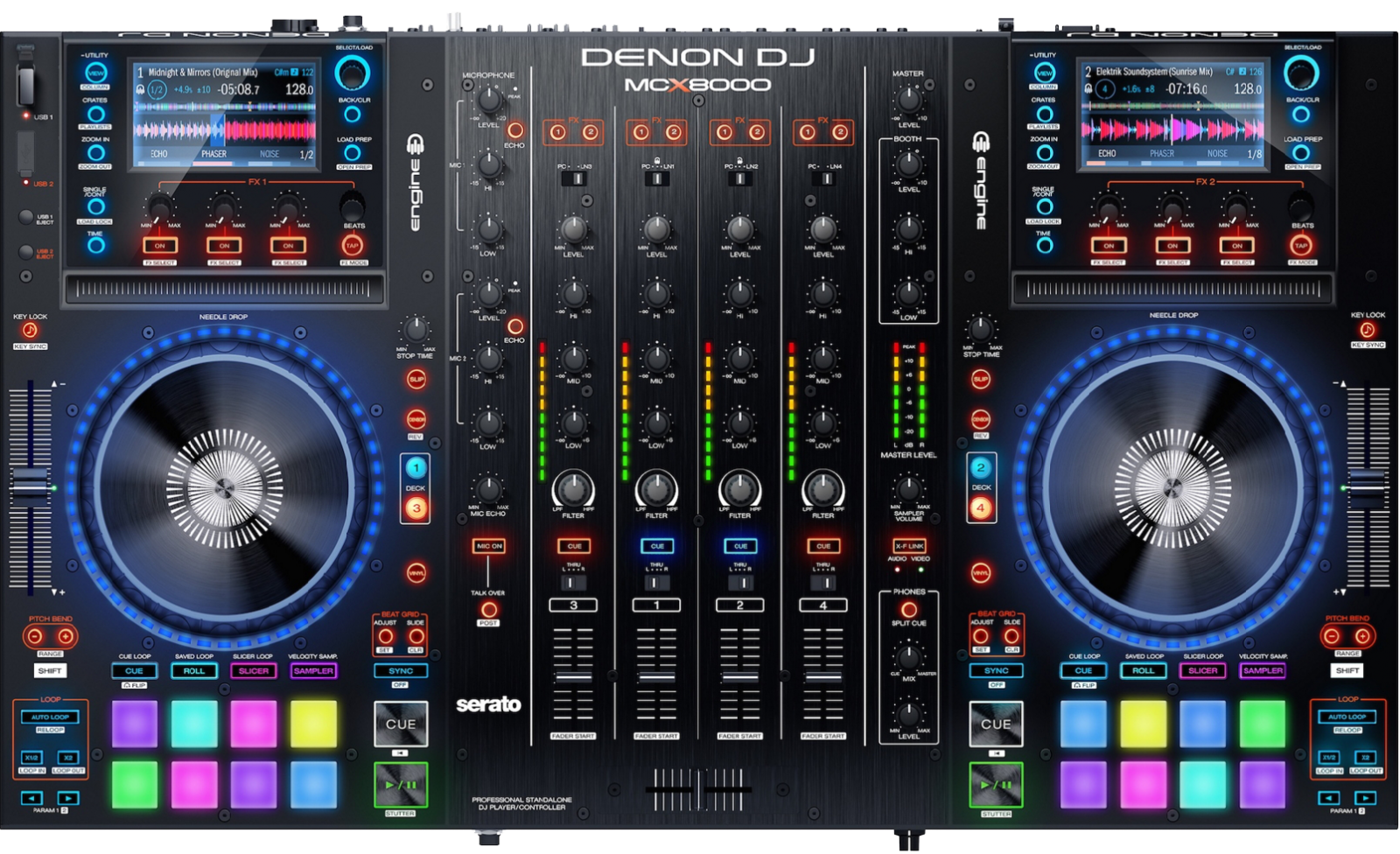 Denon DJ MCX8000 - Setup with Virtual DJ 8 Professional