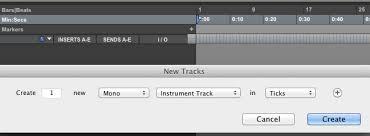 instrument track