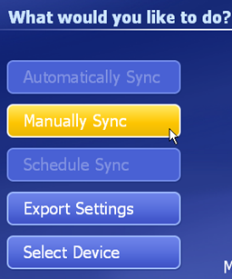 ion ezvideo faq manually sync