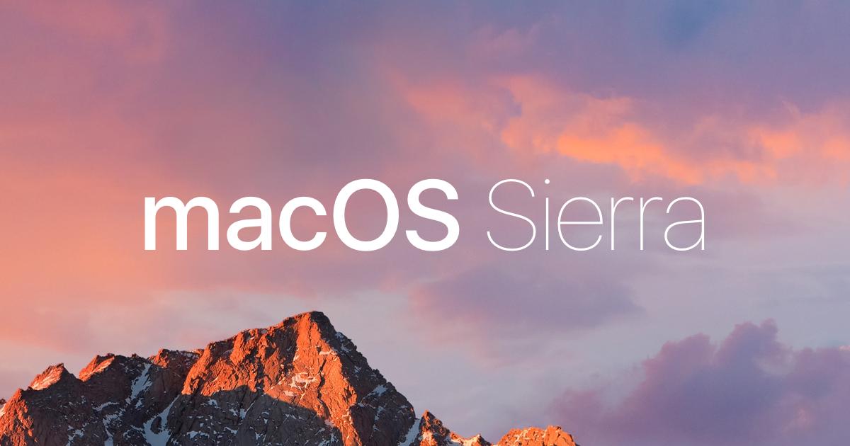 Скачать обои рабочего стола macos sierra и ios 10.