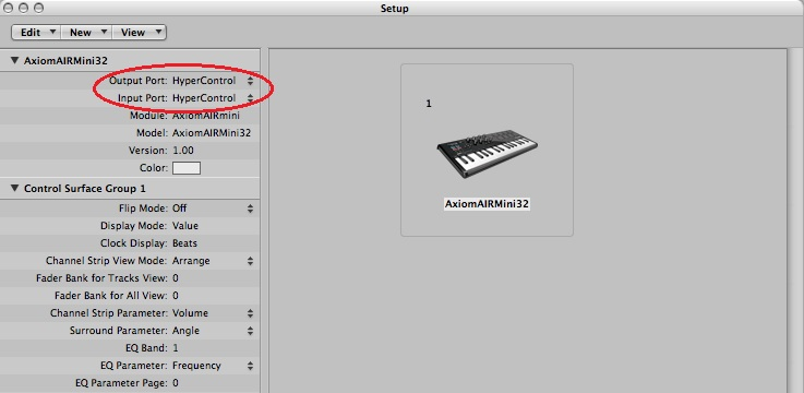 how to open up the keyboard on logic pro