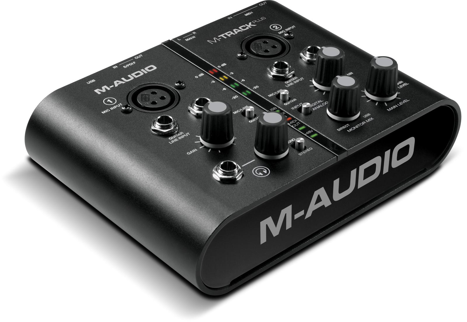 M Audio Preamplifier For Soundcard Akai Trackplus Main