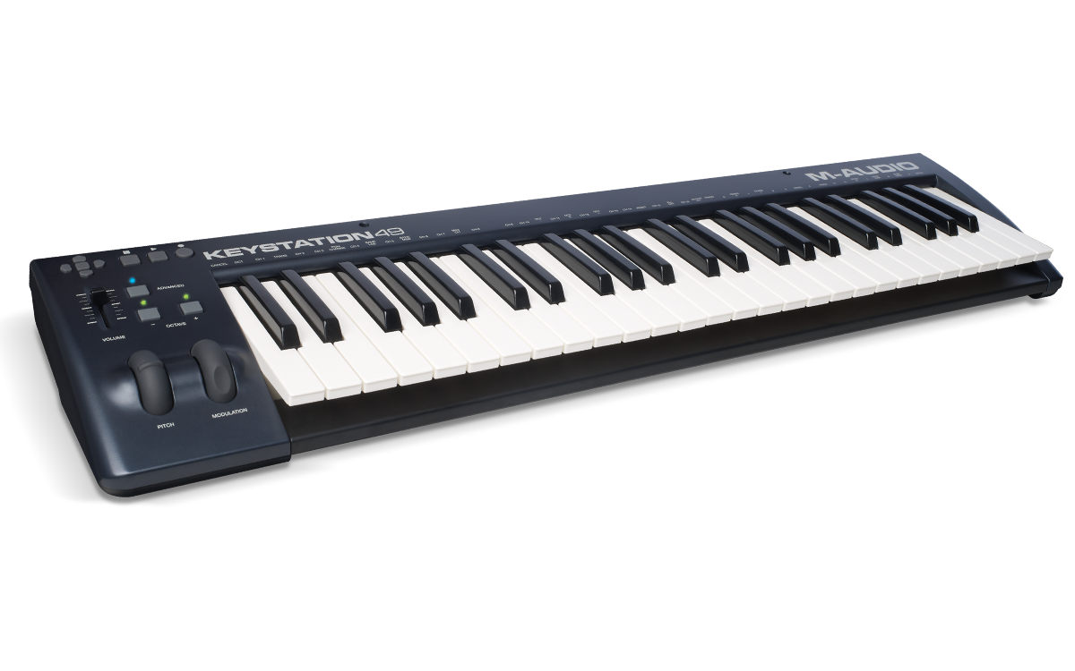 m-audio keystation49 main angle