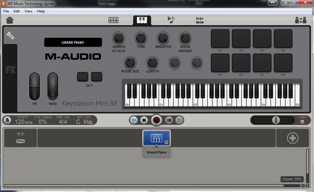 m-audio keystation mini32 ignite 1
