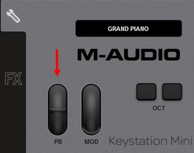 m-audio keystation mini32 ignite 2a1 1