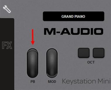 m-audio keystation mini32 ignite 2a1 2