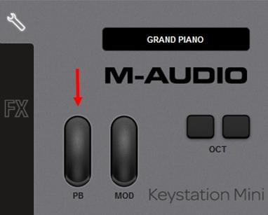 m-audio keystation mini32 ignite 2b1