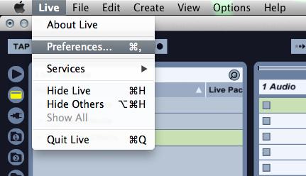 live preferences