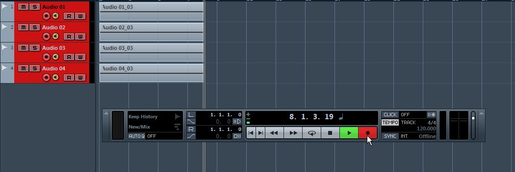 m audio mtrackeight cubasesetup 37