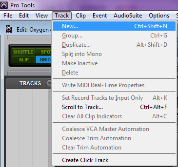 m audio oxygen series setup pro tools 3